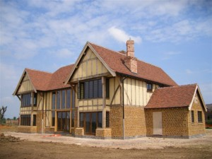 Full Oak framed house